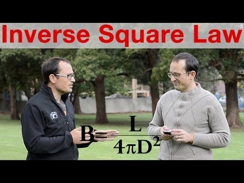 Nerd Talk - Inverse Square Law explained
