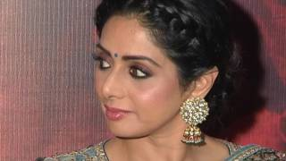 Sridevi Mom Movie Press Meet  Sridevi