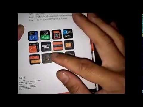 Tablet Evercoss AT7S 7 inch Unboxing