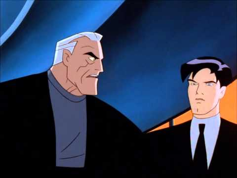 Even in his mind, Bruce refers to himself as Batman [Batman Beyond]