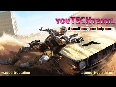 PUBG Mobile 🔴 Live Stream With YouTECH tamil | A small move can help more!