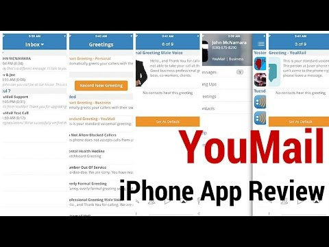 YouMail Voicemail Assistant iPhone App Review