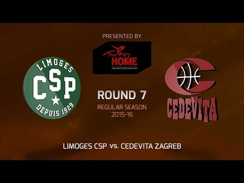 Highlights: RS Round 7, Limoges CSP 69-78 Cedevita Zagreb