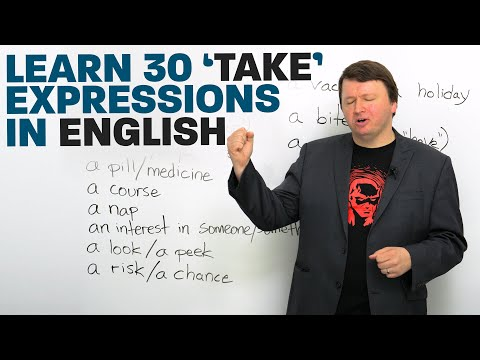 "30 ""TAKE"" Phrases in English"