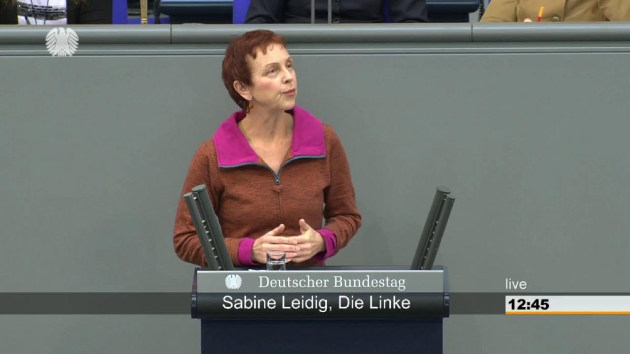 Rede von Sabine Leidig am 31. März 2017 im Deutschen Bundestag zum Thema Der Alltag auf den Straßen muss fahrradfreundlich werden!