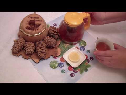 Напиток   Долголетия .Рецепт Имбирный чай с клюквой.