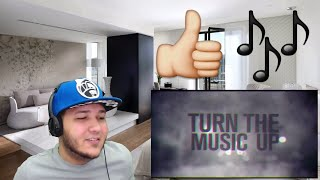 NF   Turn The Music Up (Lyric Video) REACTION!!