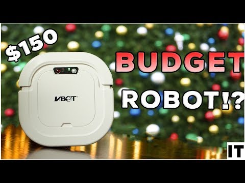 Best Budget Robot Vacuum Cleaner 2018 | VBot G270 Review