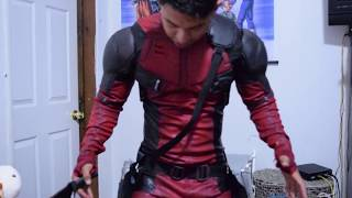 DEADPOOL SUIT MOVIE REPLICA SUIT Fitting Time Professional Cosplay