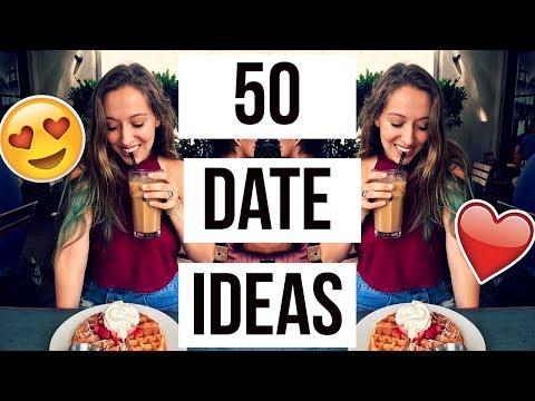 50 FUN and CREATIVE Date Ideas