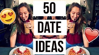 50 FUN And CREATIVE Date Ideas