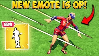 *NEW* OVERDRIVE EMOTE IS EPIC! - Fortnite Funny Fails and WTF Moments! #480