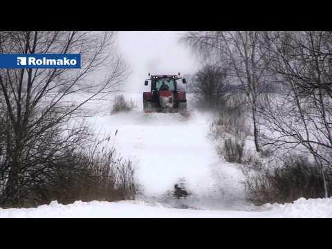 Rolmako Schneepflug Sehr Solide Konstruktion 3m und 3,3