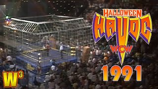 WCW Halloween Havoc 1991 Review | Wrestling With Wregret