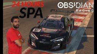 iRacing - 24h Spa Obsidian Racing | Últimas horas