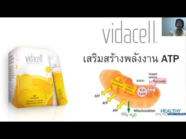 #Vidacell (วิดาเซล) ผลิตภัณฑ์เครื่องดื่มผงข้าวจากธรรมชาติ 100%#
