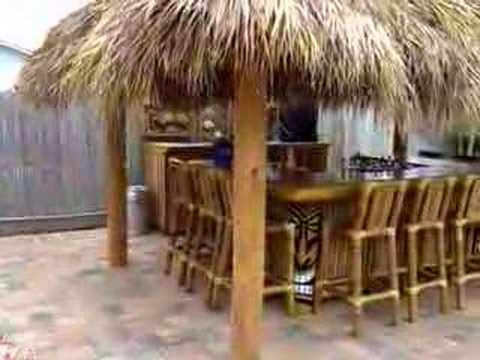 Residential Tiki Hut/Bar on Deck