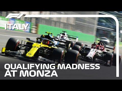 まるでレース?!。F1モンツァの予選が接戦しすぎて激しすぎると話題の動画