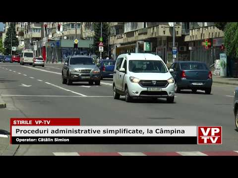 Proceduri administrative simplificate, la Câmpina