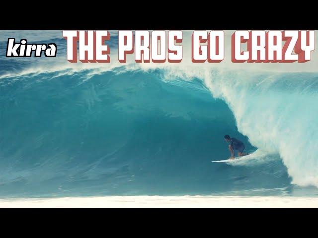 KIRRA PUMPS PRE WSL QUIKSILVER PRO 2018 SURFING GOLD COAST EX CYCLONE LINDA AUSTRALIA