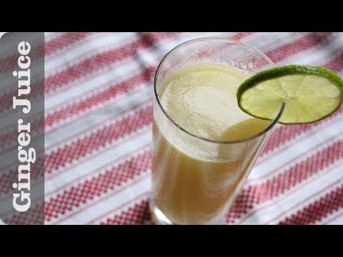 Video Ginger Juice Recipe