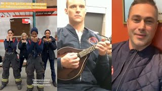 CHICAGO FIRE Season 8 || Behind The Scenes #11