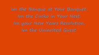Marillion - The Uninvited Guest with Lyrics