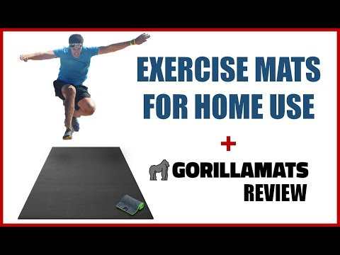 EXERCISE MATS FOR HOME USE   GORILLA MAT REVIEW