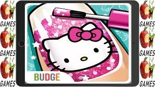 Hello Kitty Nail Salon Fun Game for Kids & Families