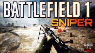 Battlefield 1: Sniper Support on Galicia - TSAR DLC (4K PS4 PRO Multiplayer Gameplay)