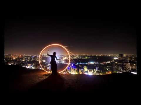 Light Painting On Location - Circular Pattern