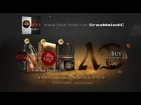 Aviram Dayan Production 35% off - *Black Friday*