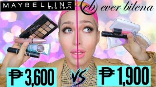 BATTLE OF THE BRANDS! (Ep. 1:) MAYBELLINE VS EVER BILENA! ALIN ANG MAS SULIT!?