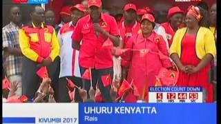 Uhuru Kenyatta awarai wakaazi wa Wote wampigie kura