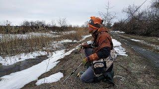 Первая рыбалка после зимы. Открытие по окуню