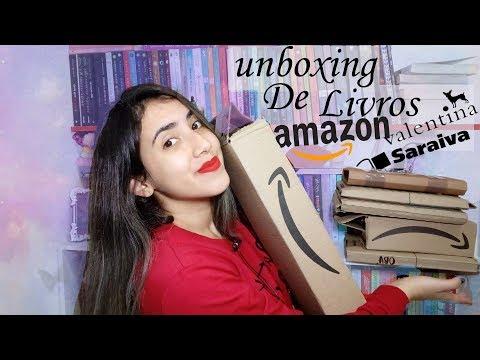 ?SUPER UNBOXING | +10 LIVROS |Amazon, Saraiva & Editora Valentina |Leticia Ferfer | Livro Livro Meu