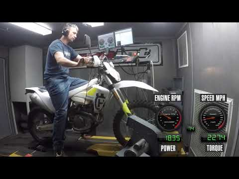 How Much Power Does The 2019 Husqvarna FE 450 Make?