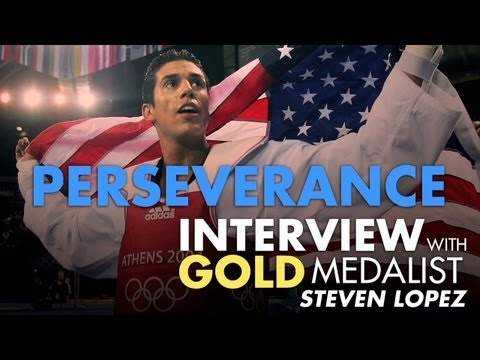 Perseverance - Interview With Olympic Gold Medalist Steven Lopez