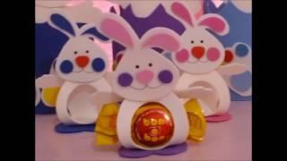 Conejo Porta Bombón Pascua