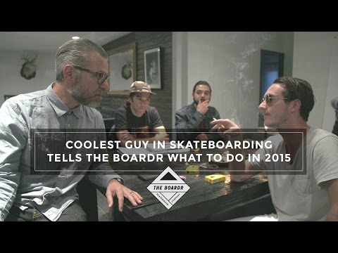 Coolest Guy in Skateboarding, Austyn Gillette, Tells The Boardr What to Do in 2015