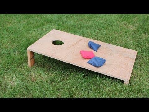 How to Make a Corn Hole Game - Jon Peters