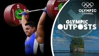 The Strongest weightlifters in Samoa Take On Terron Beckham |Olympic Outpost