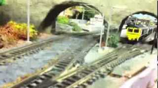 preview picture of video 'N gauge layout by STANSQUAREDFUL'
