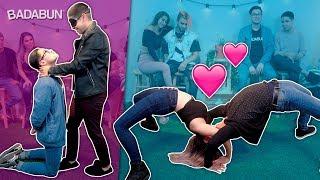 Imitando los besos más románticos de la historia