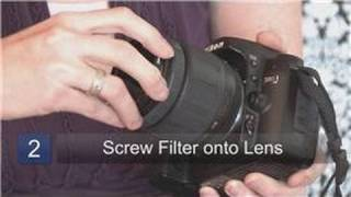 Photography Tips : How to Install a Lens Filter