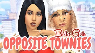 OPPOSITE TOWNIE - MIKO OJO Twin Sister | The Sims 4 Create A