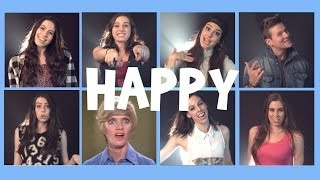 """""""Happy"""" by Pharrell Williams, cover by CIMORELLI and Tyler Ward"""