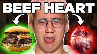 We Make Buzzfeed's Steven Lim Eat Beef Heart | FOOD FEARS