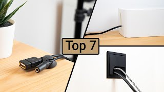 Top 7 Kabelmanagement Gadgets 2021 - Tipps | Deutsch - German | DigitaleWelt