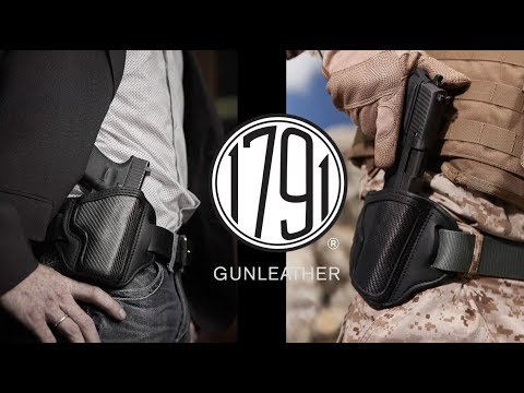 1791 Gunleather Brings A New Look to Gun Holsters